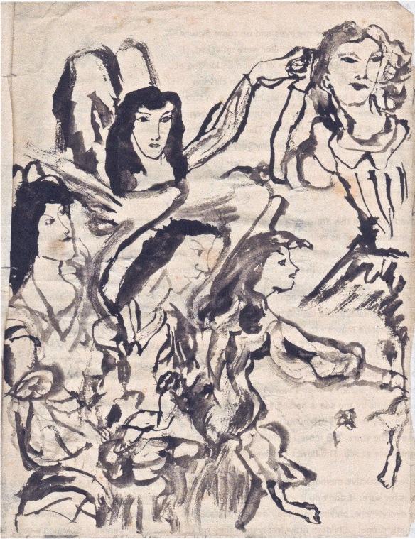 botticelli angels 1956